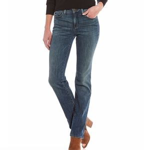 NYDJ Blue Marilyn Straight Leg Jeans